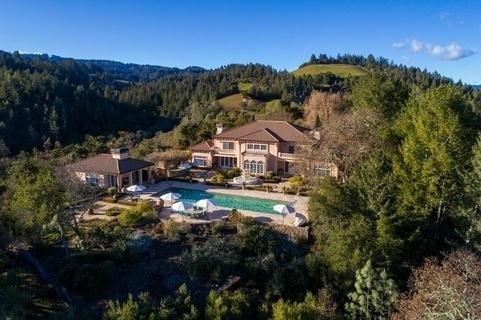 每日豪宅 | 私密奢华的加州纳帕谷葡萄酒庄园