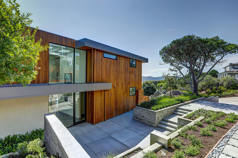每日豪宅 | 饱览金门大桥美景的湾区新建别墅