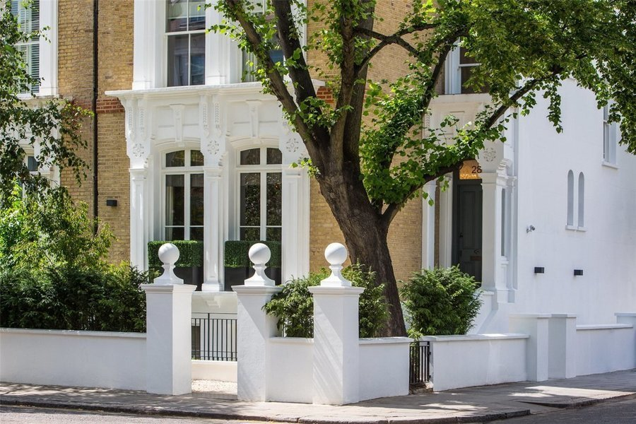 This 8,000 square foot refurbished townhouse on Tregunter Road is currently asking for £26 million ($