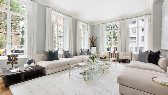 每日豪宅 | 名家操刀设计的纽约复式转角公寓