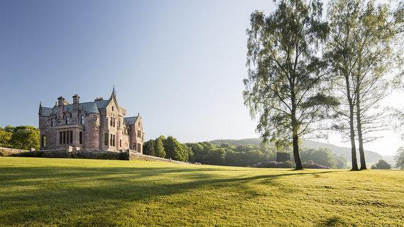香港著名设计师改造的苏格兰古堡惊艳上市