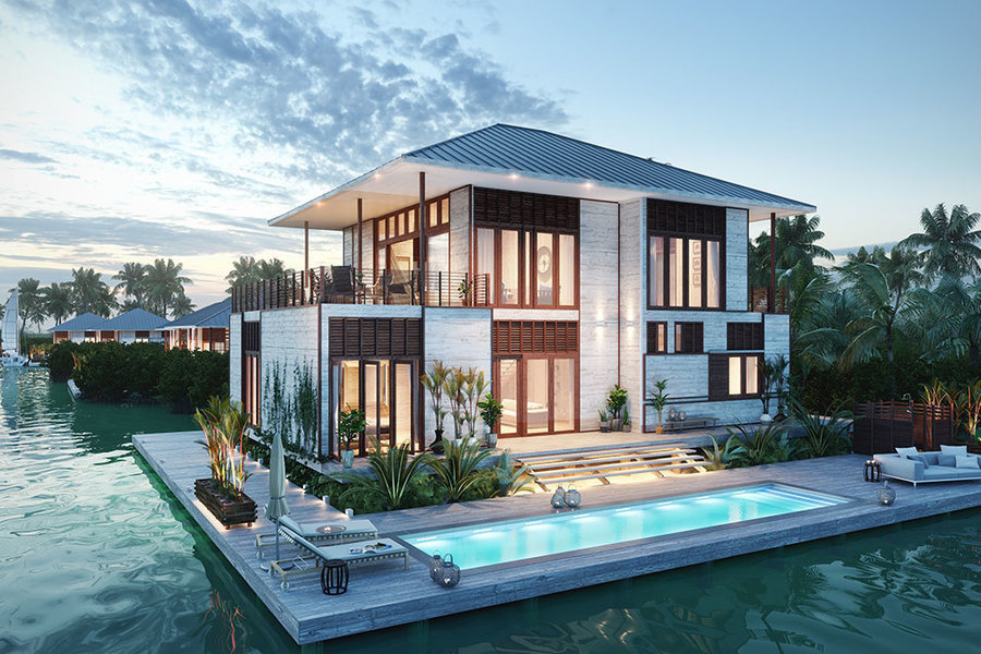 Itz'ana residences vary in size from 1,000-5,000 square feet, with opening prices ranging from $240,0
