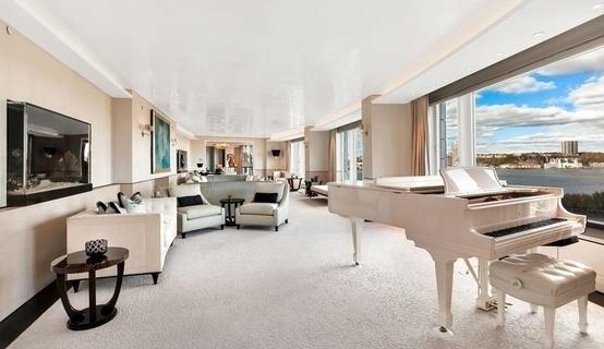 沙特王子抛售特朗普大厦超豪公寓  内含防弹密室、喷泉及寿司吧