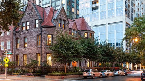 每日豪宅 | 极具标志性的芝加哥黄金地段私人宅邸