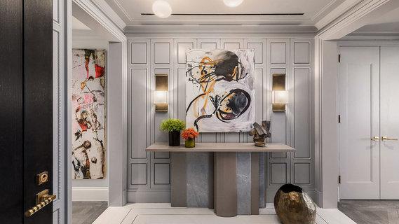每日豪宅 | 精致华美的曼哈顿新建全层公寓