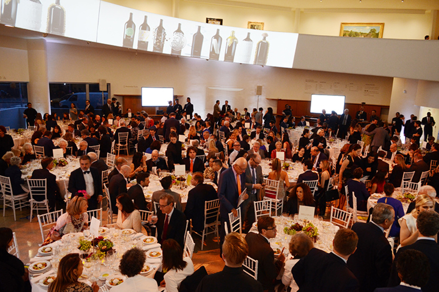 The Ornellaia's Vendemmia d'Artista Wine Auction at the Guggenheim Museum