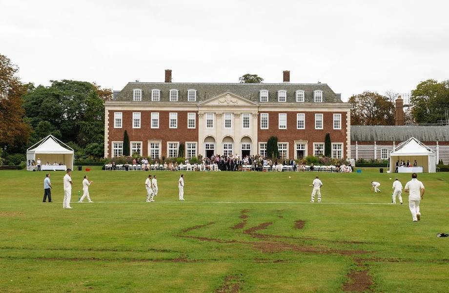 Located adjacent to London's Regent's Park, Winfield House was offered to the U.S. government by Wool