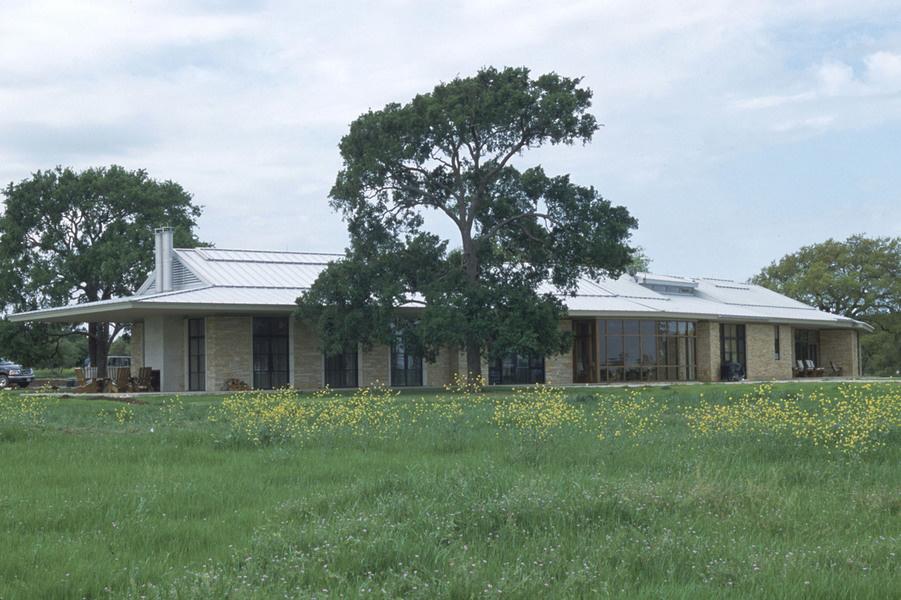 Mr. Bush's ranch near Crawford in central Texas.