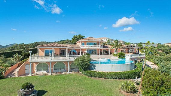 每日豪宅 | 附带专业舞厅的法国蔚蓝海岸奢华别墅