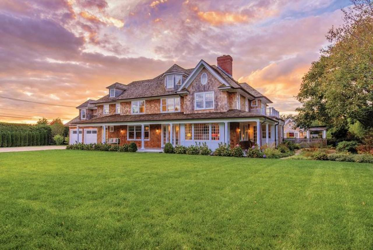 The Hampton mansion is selling for $7.995 million