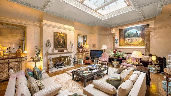每日豪宅   包含宴会厅的伦敦黄金地段复式公寓