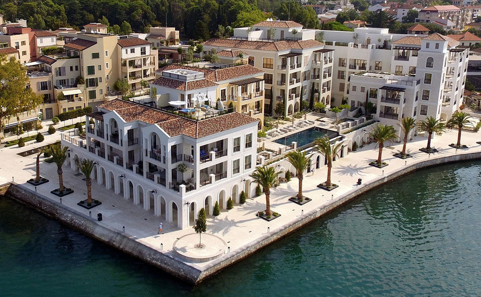 Ksenija is the latest luxury residential development within Porto Montenegro.