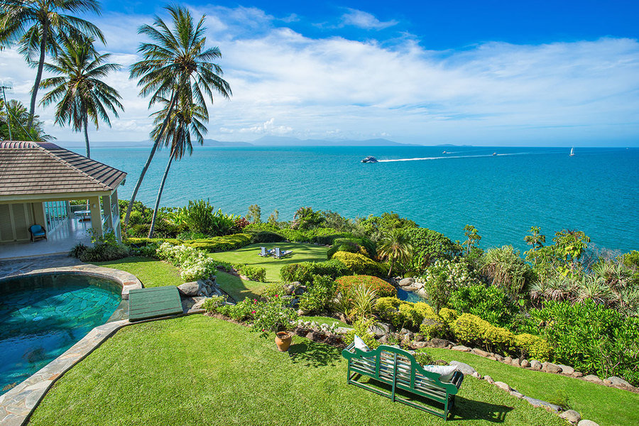 Overlooking the Coral Sea, this Wharf St, Port Douglas home is one of the area's best properties. It
