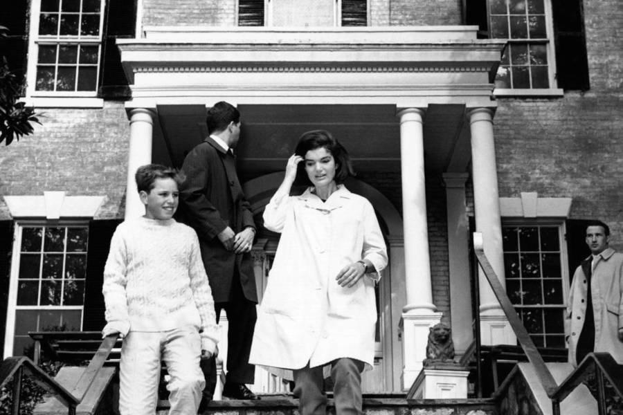 前第一夫人搬入了这栋位于乔治城的住宅。<br />